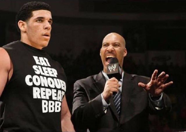 Lavar Ball Brand coming to WWE Raw!