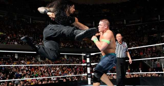 John Cena and Roman Reigns had a pipebomb and it's awesome!
